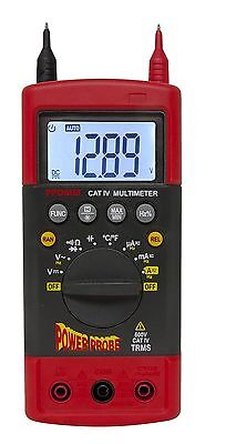 Power Probe CAT-IV 600 Volt Hybrid Safe Automotive Digital Multimeter PPDMM