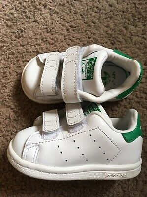 Adidas stan smith sneakers for  Infant toddler Shoes Tennis size 4