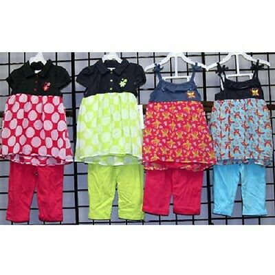 Buster Brown 4-6X Girls Capri sets 24pcs. [G46BUSCAPRI]