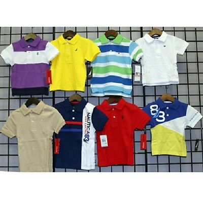 Famous Brands Boys sizes 12M-4T assorted polos 24pcs. [N181450]