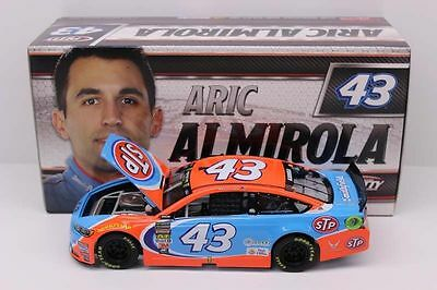 In Stock 2017 Aric Almirola #43 Stp 1/24 Ford Fusion Action New Rare Lionel