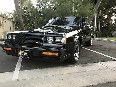 1987 Buick Grand National  1987 Buick Grand National Astroroof