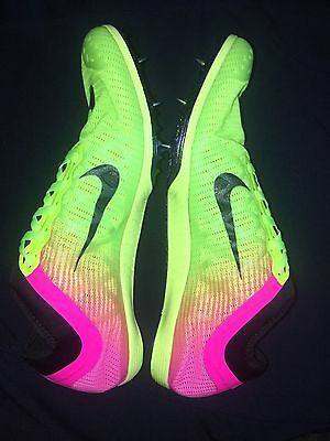 Nike  Zoom Mamba 3  Size 8.5 Mens Track Field Spikes Womens Size 10