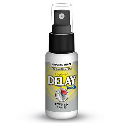 Spray Ritardante Delay Touch  Contro Eiaculazione Precoce 15Ml