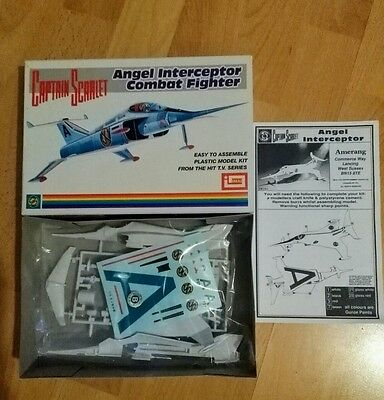 Imai Captain Scarlet Angel interceptor