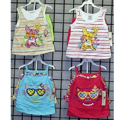 Buster Brown Girls sizes 4-6X assorted tank sets 24sets [GBB46TSET]