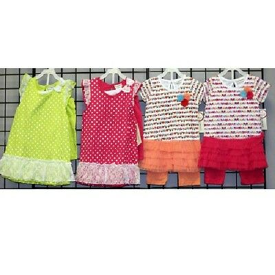 Buster Brown Girls sizes 4-6X assorted short sets 24sets [GBB46SET]