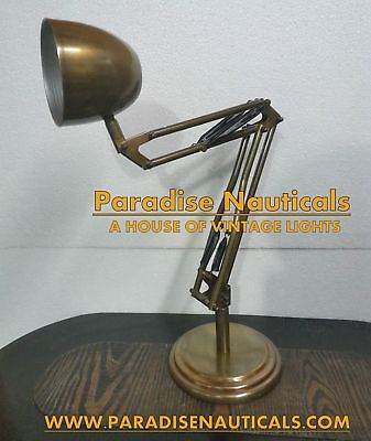 Theatre/Stage Light + Tripod, Stylish Floor Lamp Industrial Nautural Wood
