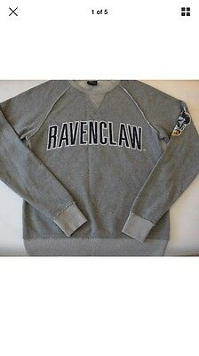Harry Potter Universal Studios Ravenclaw Sweatshirt Womens Small Mint!!