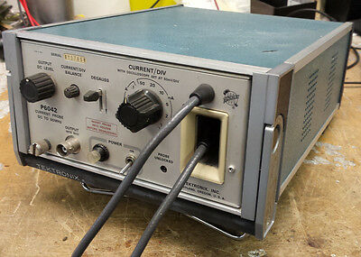 Tektronix P6042 DC-50Mhz current probe, tested, working