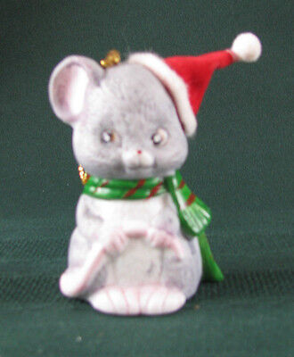 Vintage Mouse Bell Ornament JSNY Mouse Ornament Jasco