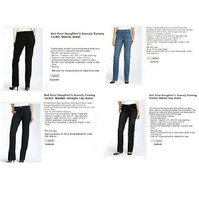 Not Your Daughter's jeans IRR assortment 30pcs. [NYDJ30]