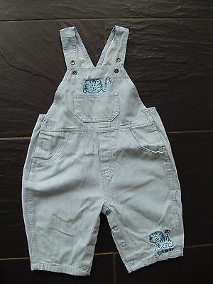 Boys Blue Dungarees, 18-23 Months, Height 92 cm
