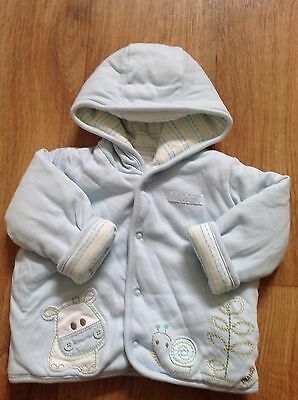 Cute Baby Boys Jacket Coat 3-6 Months Marks and Spencer M&S Will Combine Post
