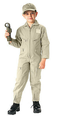 Kids Flight Suit Coveralls US Air Force Military Style Flightsuit Rothco 7207