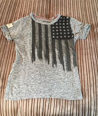 NEXT grey stars and stripes t-shirt * 18-24m * Very good condition