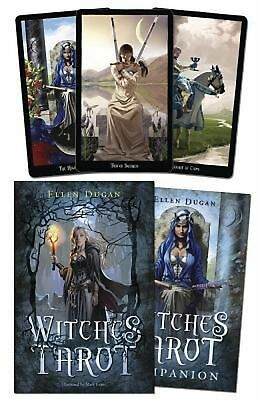 Witches Tarot [With Cards] by Ellen Dugan (English) Hardcover Book