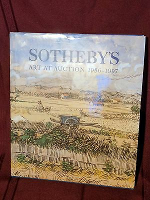 Southeby's Art At Auction 1996-1997 Hardback Rare Excellent Condition FIrst Ed.
