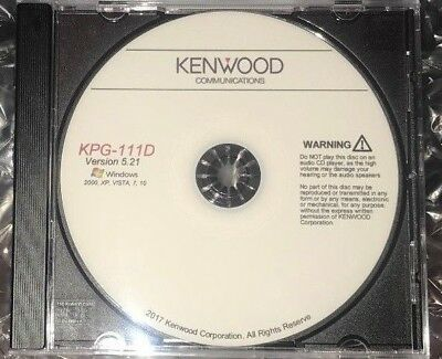 Kenwood KPG-111D Version 5.00 Program Software For Radio NX-410 NX-411 NX-900 +