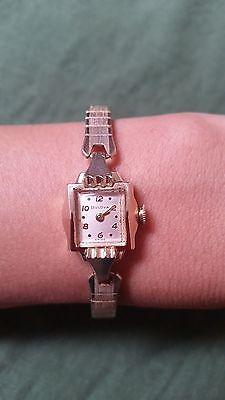 Vintage Bulova L3 Watch 10K Rolled Gold Plate Belez 17 Jewels 6BL