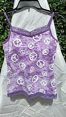 GIRL'S JUSTICE CAMI / TANK SHIRT~SIZE 16 Lot of 2