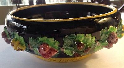 Fratelli Fanciullacci Signed Ff Art Pottery Bowl Centerpiece Made In Italy