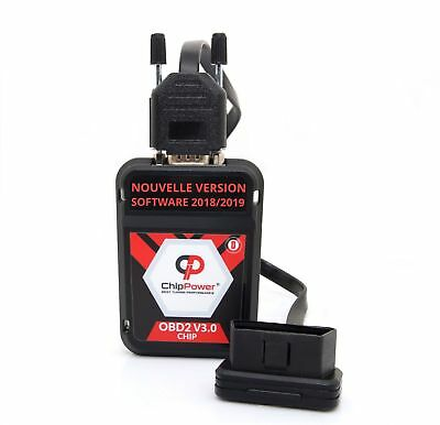 OBD2 Boitier Additionnel Volvo V40 D4 190CV Diesel Chip Box ver.3