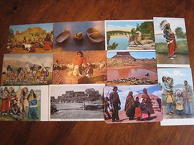 Lot of 35+ Vintage Postcards  -  ALL NATIVE AMERICAN