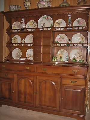 Pennsylvania House Solid Cherry Hutch with Sideboard