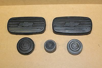 Chevrolet Pedal Covers Brake Clutch Accel Starter & Dim 1928 1929 1930 1931 1932