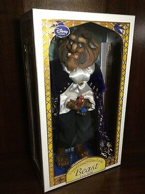 "Disney Store Limited Edition ""beauty & The Beast"" ~ Beast 17"" Doll ~ New!!"