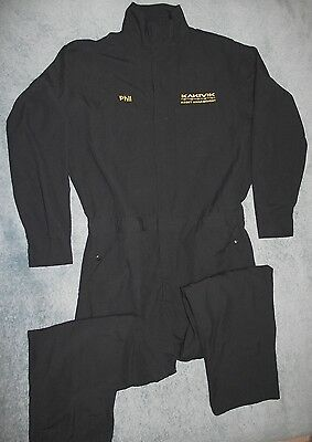 Topps Safety Apparel Coveralls Co07 5605 Nomex Iiia Flame Resistant Navy 50 Tall