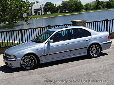 2000 BMW M5 Base Sedan 4-Door 2000 BMW M5 SILVERSTONE *1-OWNER* ONLY 9,458 ACTUAL MILES* COLLECTOR GRADE* RARE