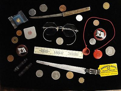 Junk Drawer Lot  - Antique Vintage Colletctibles #1