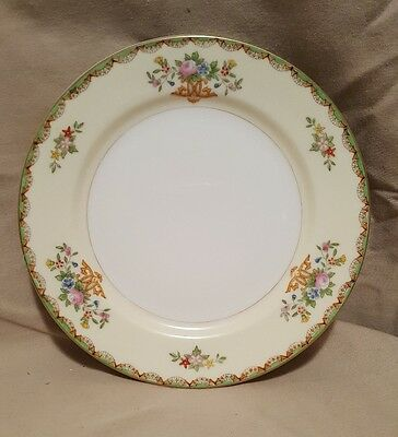 Set 4 Vintage Meito China Hand Painted Made in Japan Salad Dessert Plates