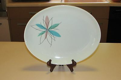 Shenango China Atomic Flowers 11 inch Platter