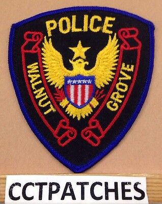 Walnut Grove, Mississippi Police Stock Eagle Shoulder Patch Ms