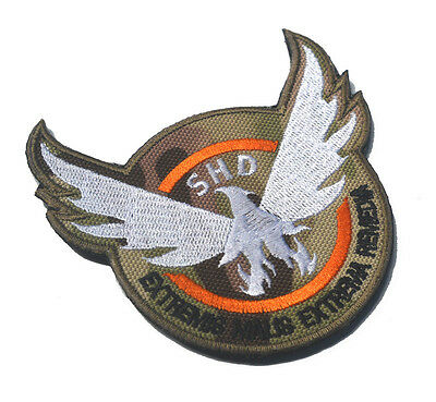 ARMY USA 3D RUBBER MORALE BADGE TACTICAL PATCH #02 THE DIVISION SHD U.S