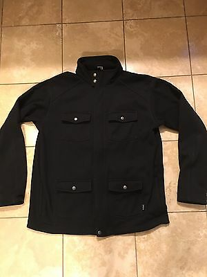 Patagonia Men's Casual Fleece Jacket - Black Size XL