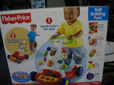Fisher Price Walker To Wagon - Brand New In Sealed Box.