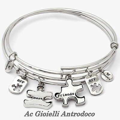 Chrysalis Bracciale Doppio Amore Sconfinato Boundless Love Expandable Bangle Set