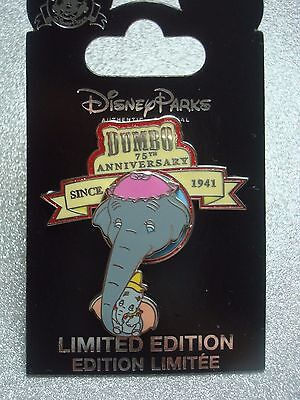 Disney PIN, Dumbo 75th Anniversary, Limited Edition. PIN on PIN, Moveable.