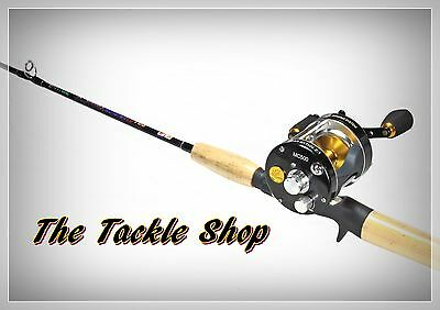 "5'6"" IM6 Carbon 2-4Kg Baitcast Combo - MY MC500 6BB Reel + Latitude X-Cast Rod"