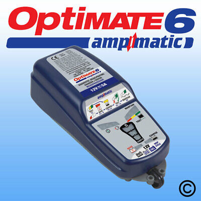 OptiMate 6 Ampmatic 5amp UK Supplier & Warranty 2019 NEW