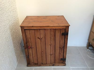 Vintage Pine Bakers Cupboard originating from Orkney