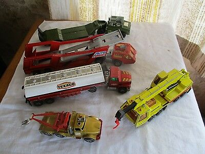 matchbox lesney  superkings commercial collection circa 1970s made england