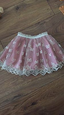 Girls Butterfly Puffy Skirt, 12-18 Months