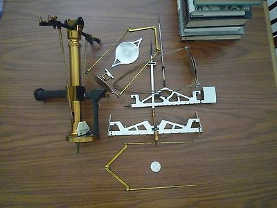 Christian Becker German Precision Brass Pharmaceutical Drug Druggist Scale Parts