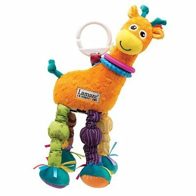 Lamaze Stretch the Giraffe, Colors May Vary LC27025A LAMAZE