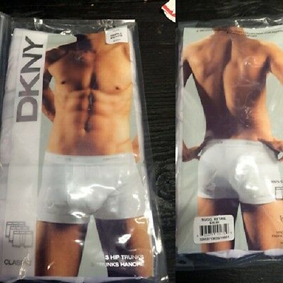 DKNY mens Classic 3 hip trunks- 36pcs. [DKNYhiptrunk]